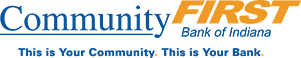 Community First Bank of Indiana logo